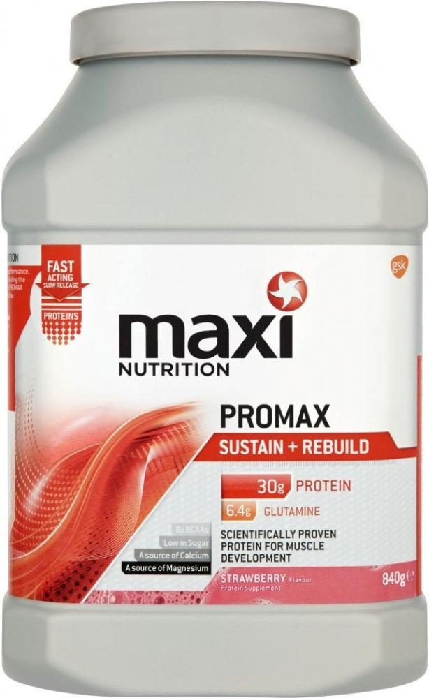 Maxi Nutrition Promax Sustain and Rebuild Strawberry Flavour 840g
