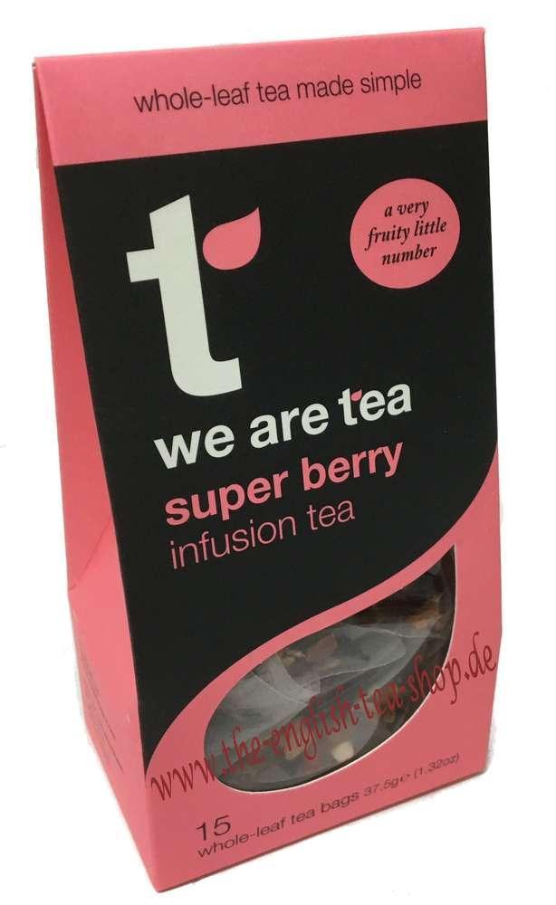 Tea Retail Super Berry Infusion Tea 15 Bags