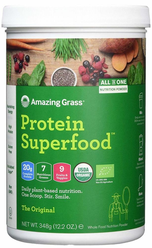 Amazing Grass Protein Superfood The Original 12 Serving Tub 348g EXP. 1201219