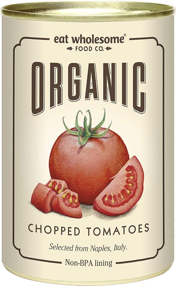 Eat Wholesome Organic Chopped Tomatoes 400g