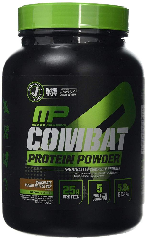 MusclePharm Combat Sport Protein Powder Chocolate Peanut Butter Cup 907g