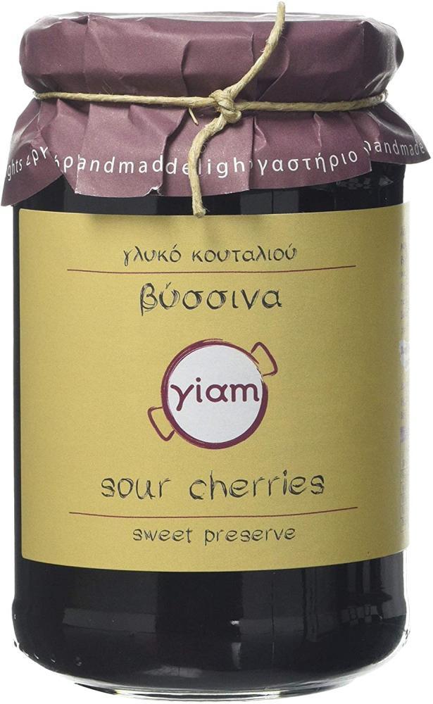 Yiam Greek Sour Cherry Preserve 450g