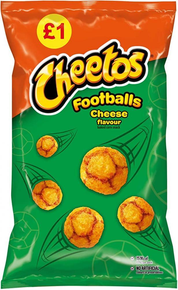 Cheetos Footballs Cheese Flavour 60g