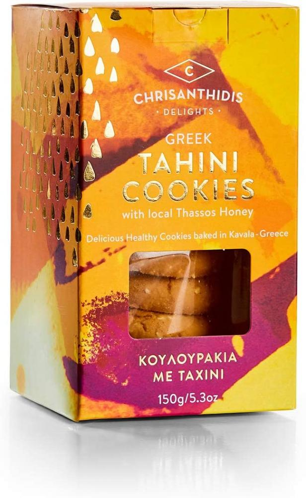 Chrisanthidis Delights Tahini Cookies with Local Thassos Honey 150 g