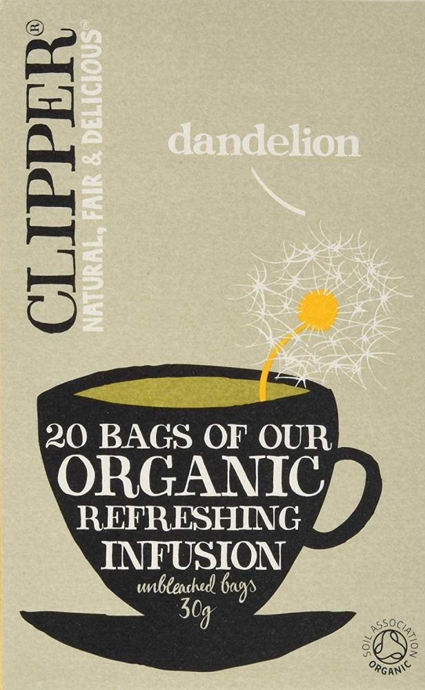 Clipper Dandelion 20 Teabags Organic Refreshing Infusion 30g