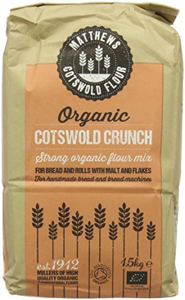 FWP Matthews Organic Cotswold Crunch Flour 1.5 kg