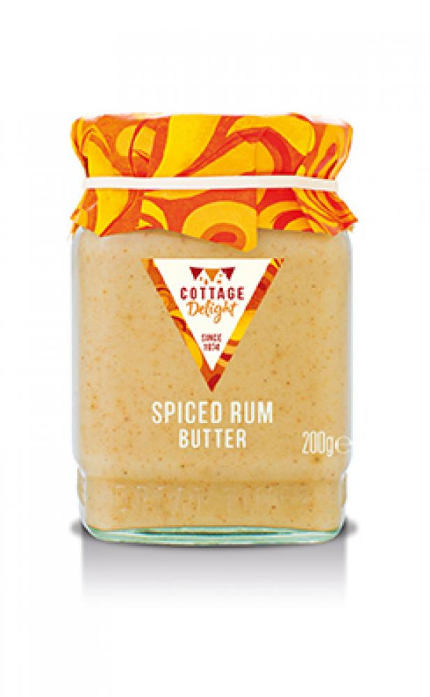 SALE  Cottage Delight Spiced Rum Butter 200g