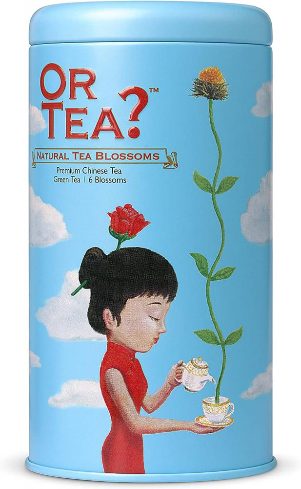 SALE  Or Tea Natural Tea Blossoms Tin Canister 42 g