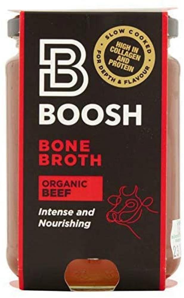 Boosh Foods Organic Beef Bone Broth 350 ml