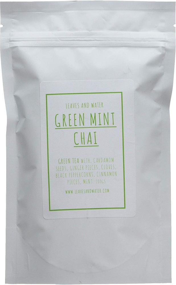 Leaves And Water Green Mini Chai Tea 60 Cups