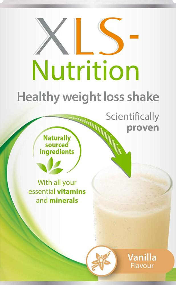 XLS Nutrition Weight Loss Meal Replacement Shake Vanilla Flavour 400g