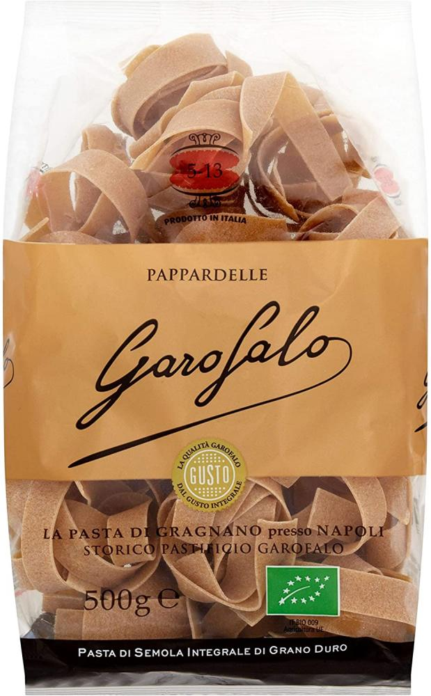 Garofalo Whole Wheat Organic Pappardelle 500g