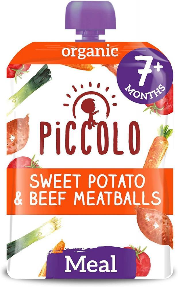 Piccolo Piccolo Sweet Potato and Beef Meatballs 130g