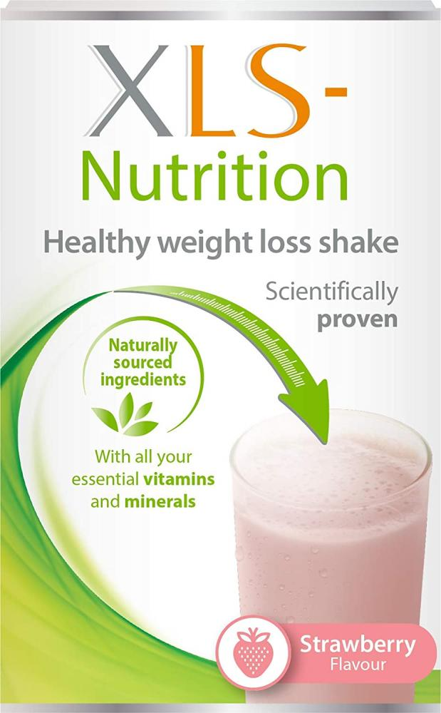 XLS Nutrition Weight Loss Meal Replacement Shake Strawberry Flavour 400g