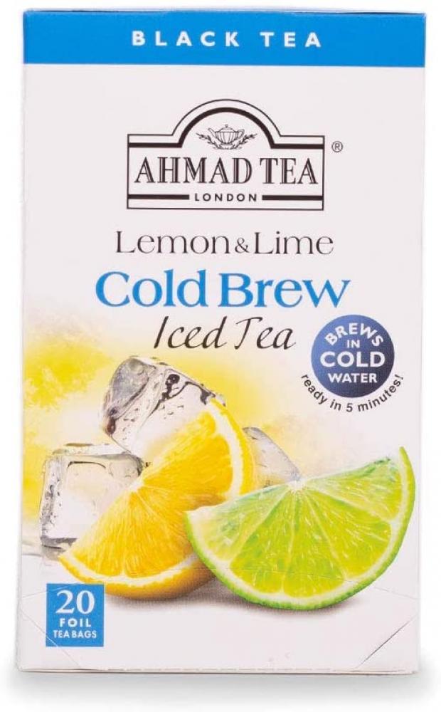 Ahmad Tea London Lemon and Lime Cold Brew Iced Tea 20 Teabags