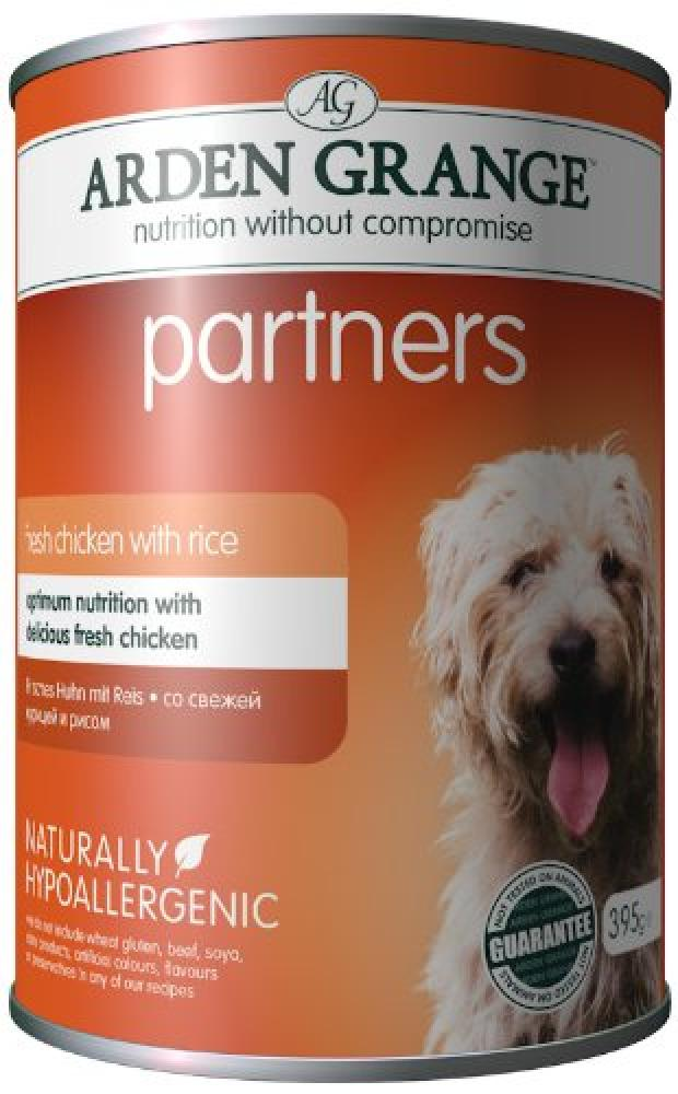 Arden Grange Dog Food Partners Fresh Chicken Rice and Vegetables 395 g