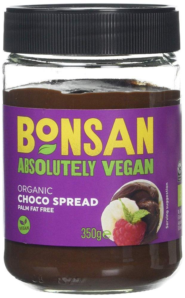 Bonsan Organic Vegan Plain Choco Spread 350g