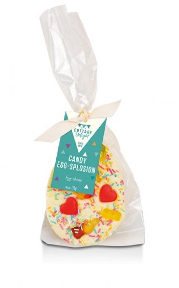 Cottage Delight Candy Egg-Splosion Chocolate Half Egg 175g