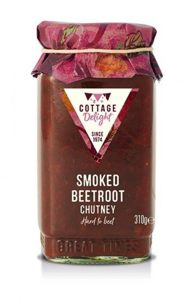 Cottage Delight Smoked Beetroot Chutney 310g