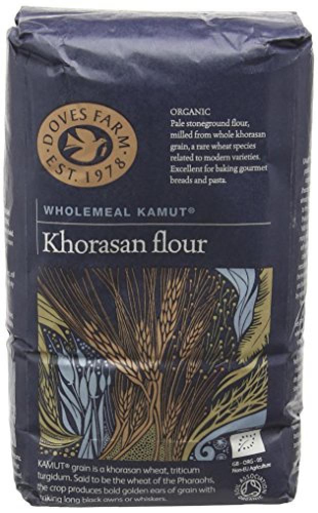 Doves Farm Organic Wholegrain Kamut Khorasan Flour 1 kg