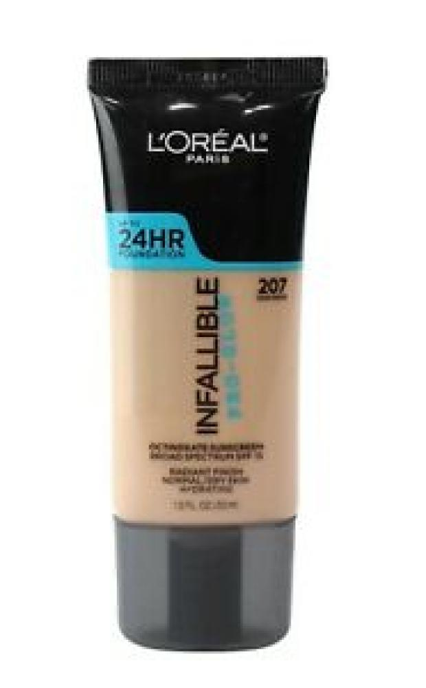 Loreal Paris Infallible Pro-Glow Radiant Finish Foundation 207 Sand Beige 30ml