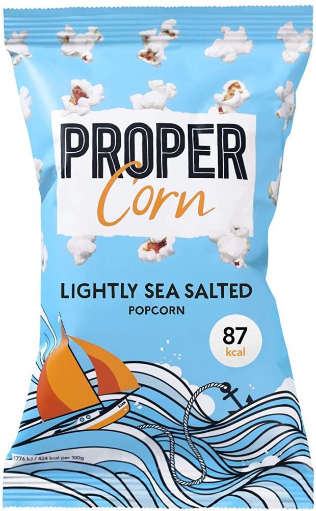 Propercorn Lightly Sea Salted Popcorn 20g x 12