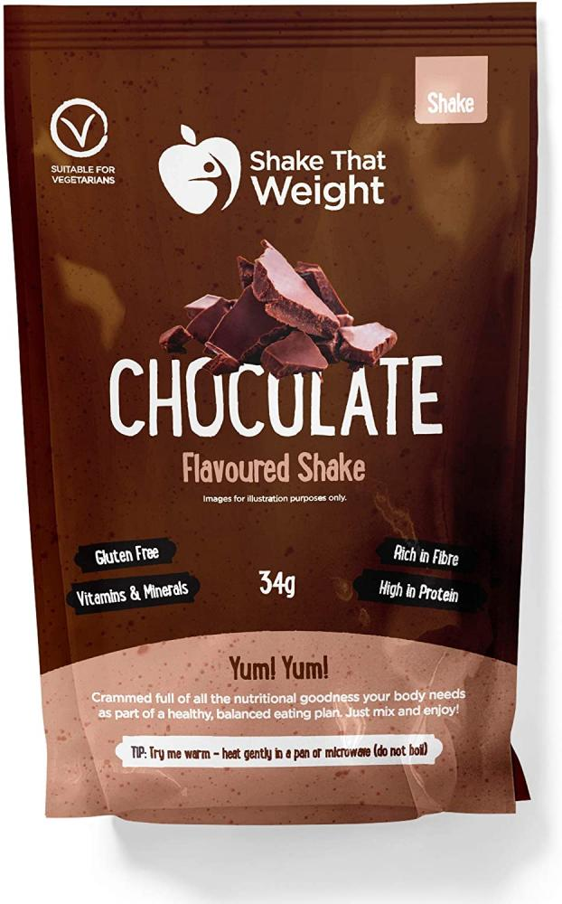 Shake That Weight Diet Shakes - Chocolate - Meal Replacement Plan for Weight Loss 34 g