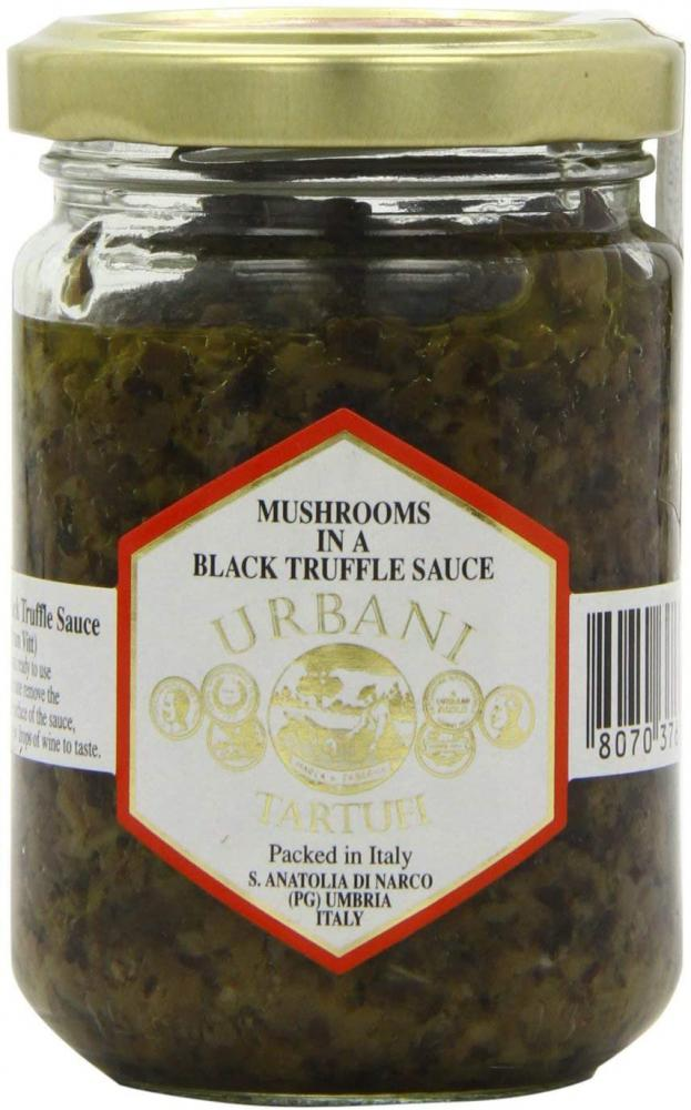 Urbani Mushrooms in a Black Truffle Sauce 130g