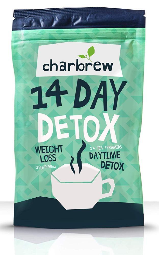 Charbrew Day Time Tea Detox 14 Days Weight Loss Tea 28g