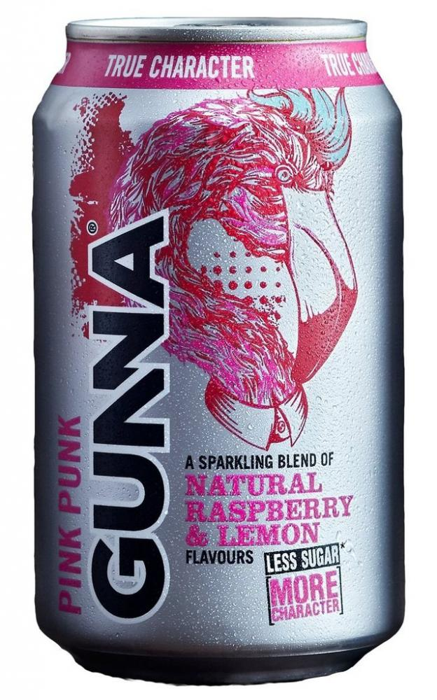 Gunna Pink Punk Raspberry and Lemon 330ml