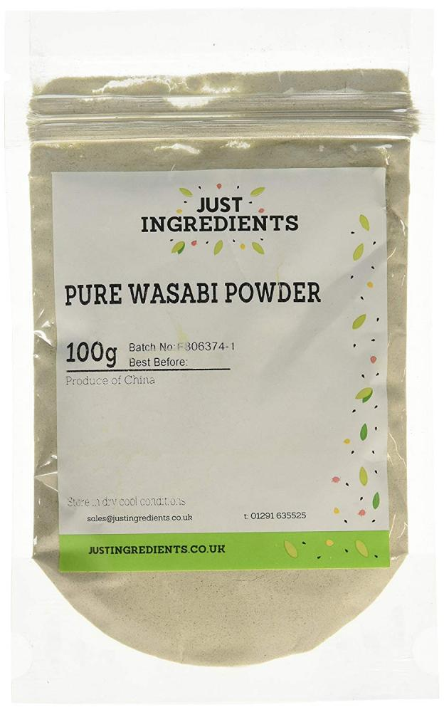 JustIngredients Pure Wasabi Powder 100g