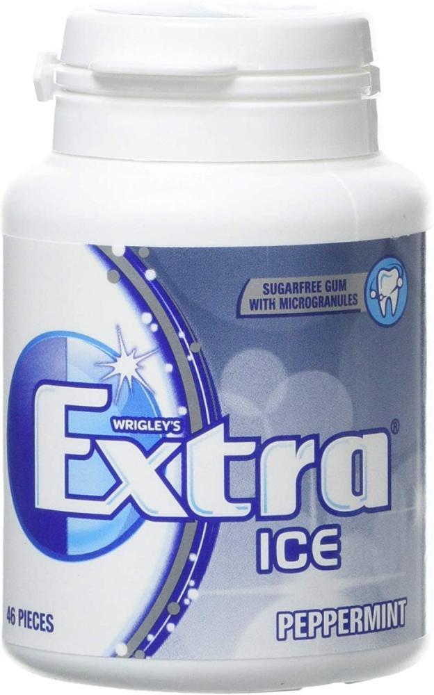 Wrigleys Extra Ice Peppermint Sugarfree Gum 46 Pieces