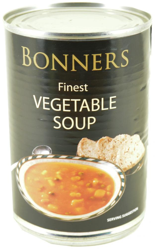 Bonners Finest Vegetable Soup 400g