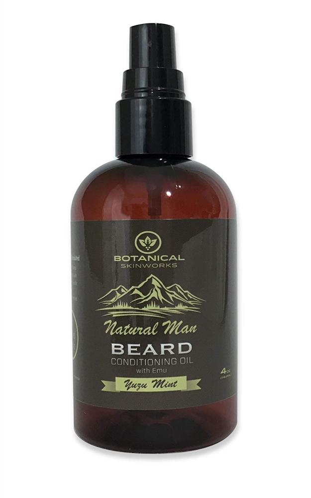 Botanical Skinworks Natural Man Bay Lime Beard Conditioning Oil 118.2 ml