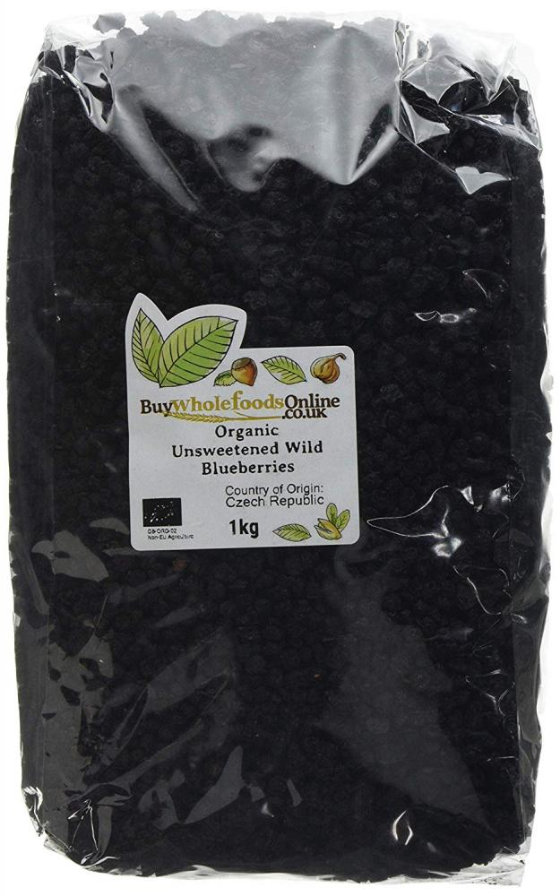 Buy Whole Foods Organic Unsweetened Wild Blueberries 1 kg