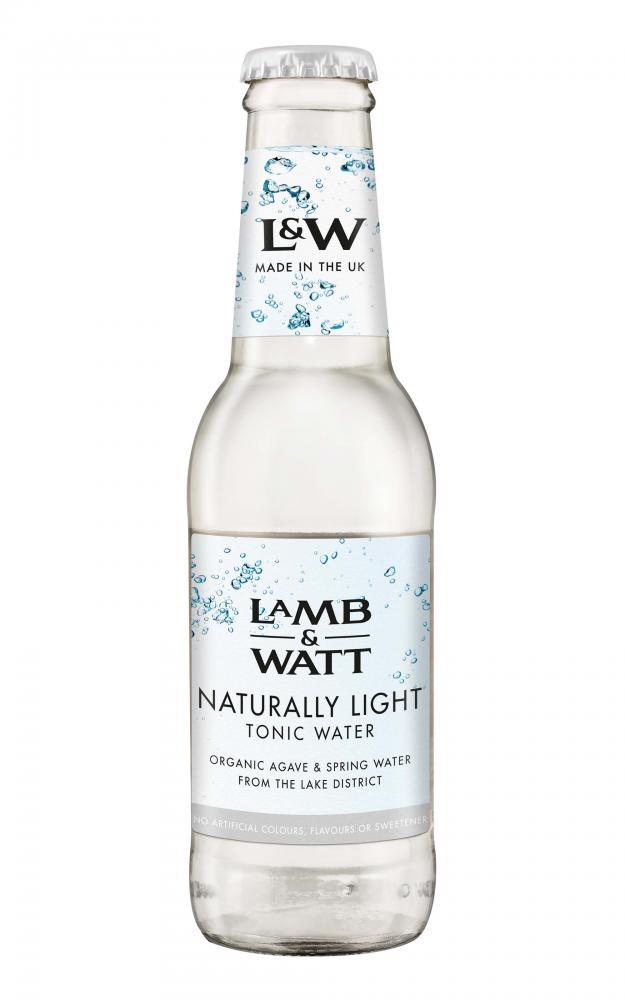 Lamb and Watt Naturally Light Tonic Water 200ml