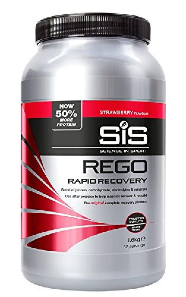 Science In Sport Rego Rapid Recovery Protein ShakeStrawberry 1.6 kg 32 Servings