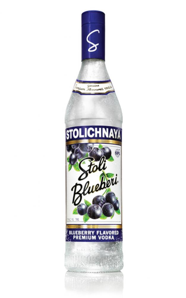 Stolichnaya Blueberry Flavored Premium Vodka 700ml