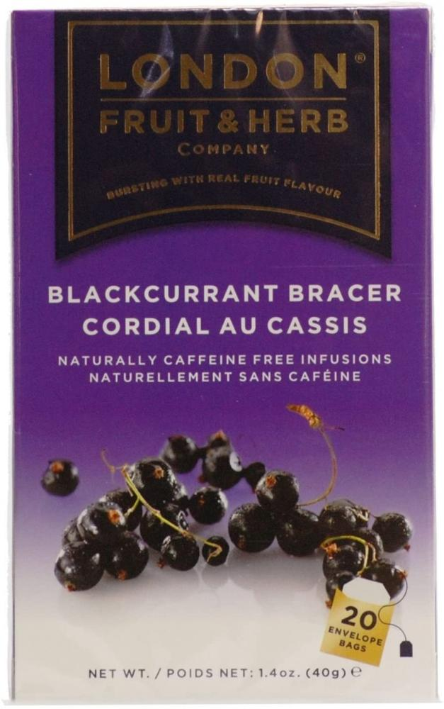 London Fruit and Herb Company Blackcurrant Bracer Tea 40 g