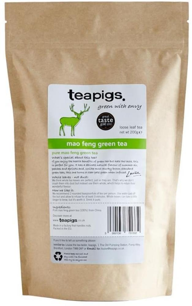Teapigs Mao Feng Green Tea 200 g