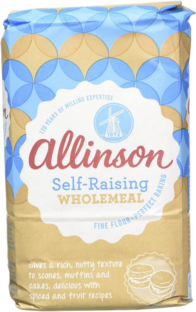 Allinson Self-Raising Wholemeal Flour 1kg