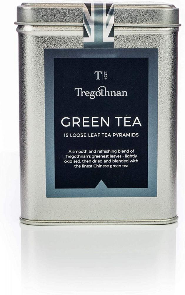 Tregothnan Green Tea 15 tea pyramids