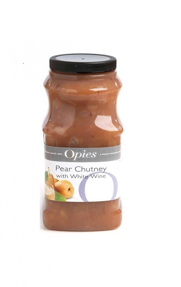 Opies Pear Chutney With White Wine 1.2kg
