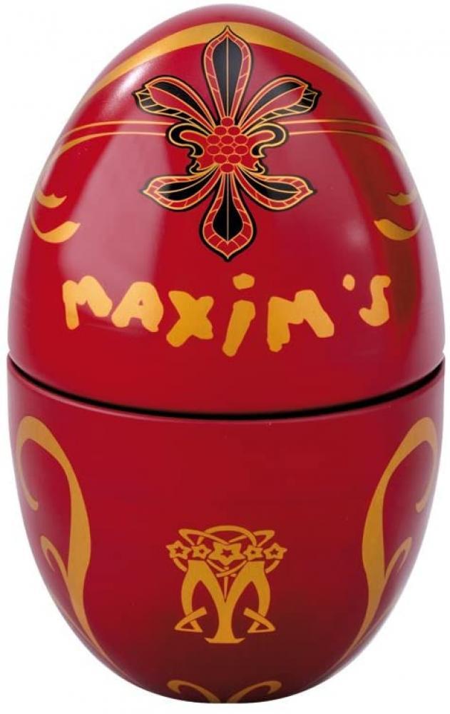Maxims de Paris Red Egg with Milk Chocolate Balls 100 g