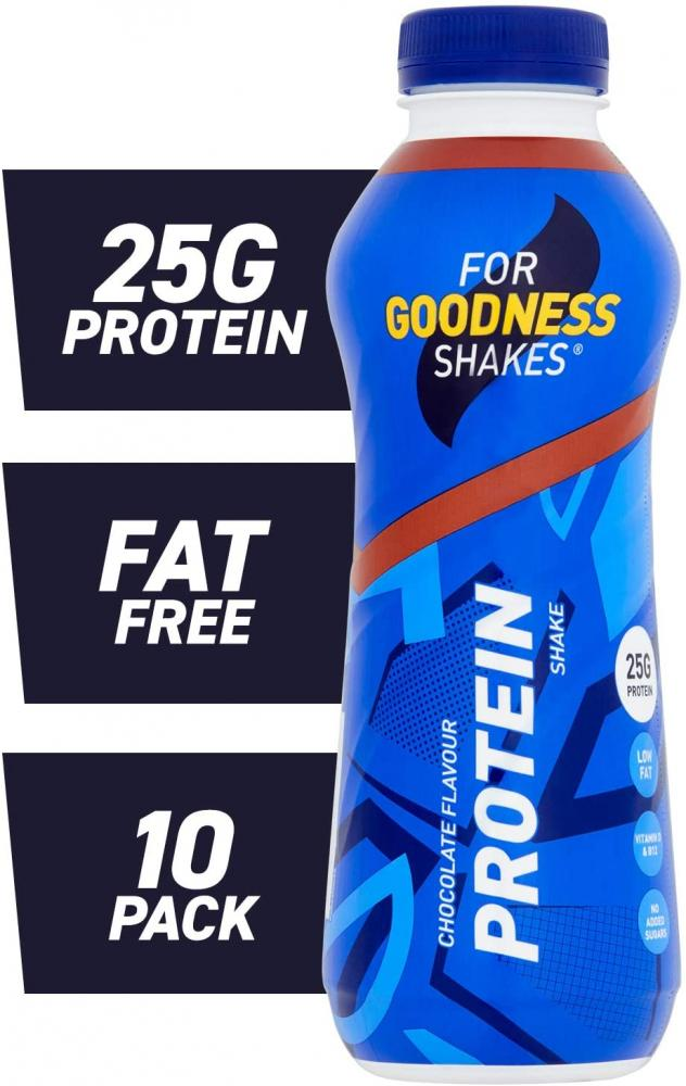 For Goodness Shakes High Protein Chocolate Shake 475 ml