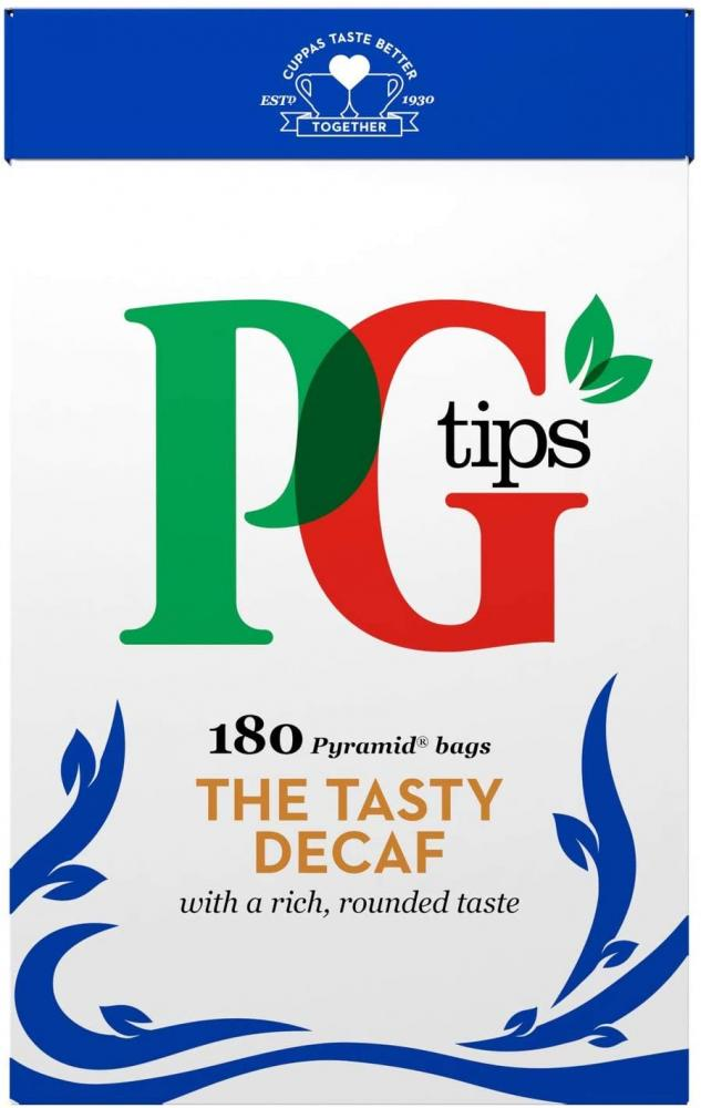 PG Tips Decaffeinated Tea Bags Pack of 180