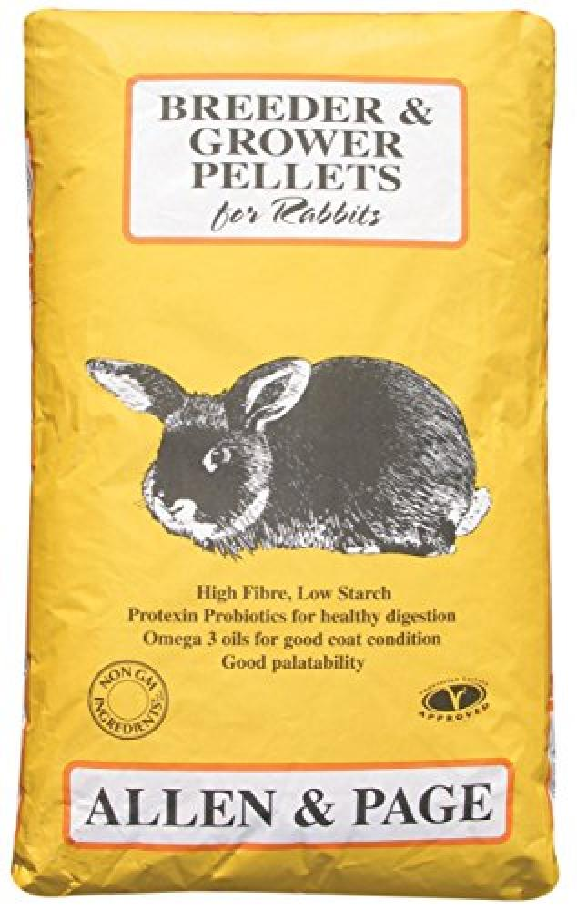 Allen and Page Breeder And Grower Pellets For Rabbits 20Kg