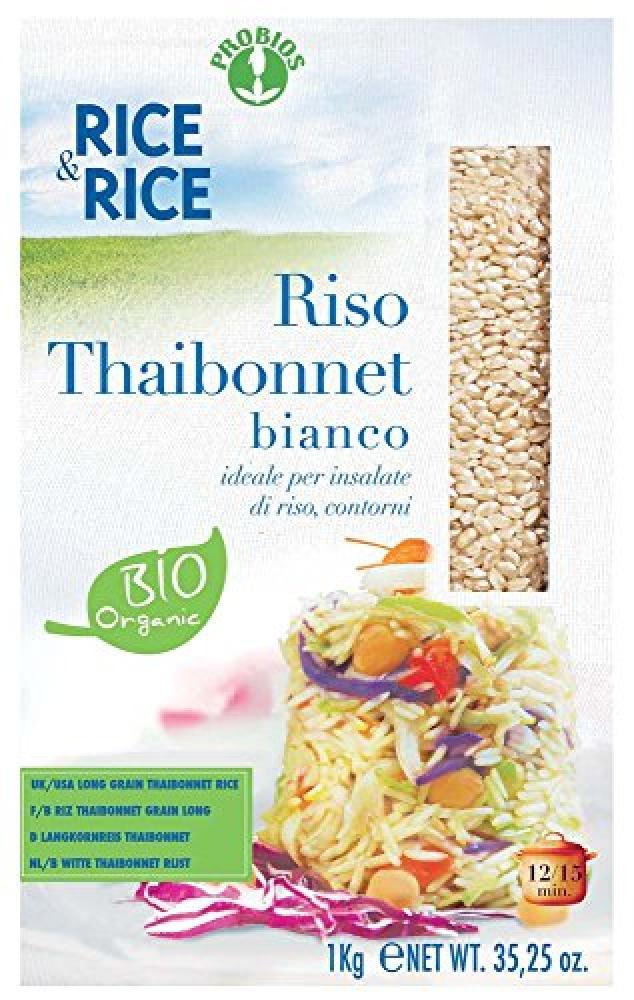 Probios Riso Thaibonnet Bianco 1Kg
