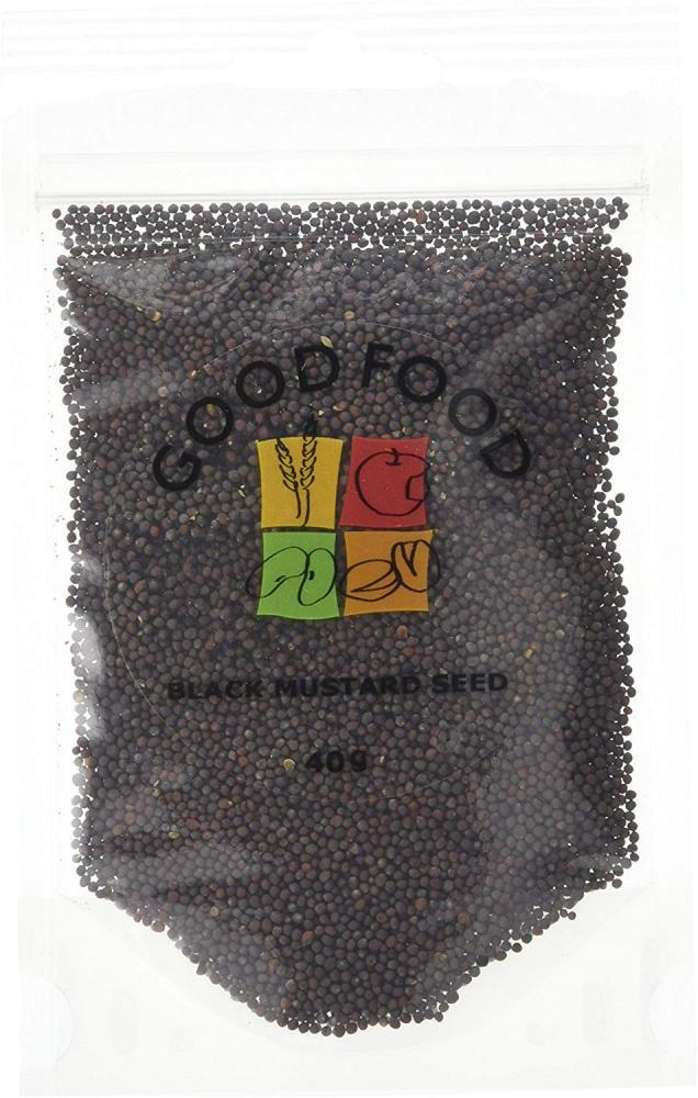 Good Food Black Mustard Seed 40 g