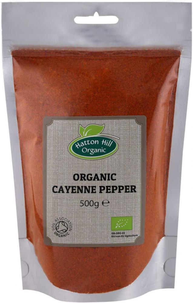 Hatton Hill Organic Organic Cayenne Pepper 500g